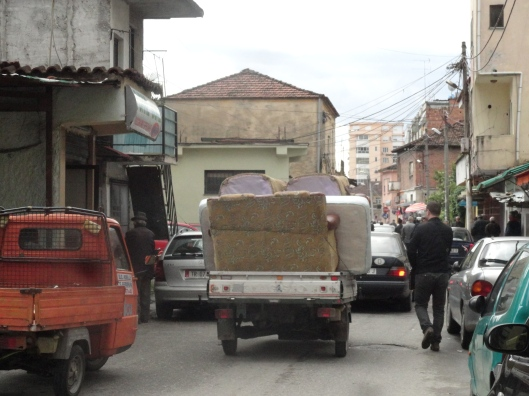 Although, in China, I am sure that truck of furniture would have been loaded much higher!