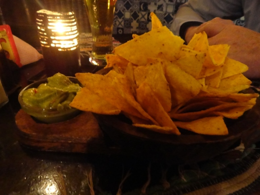 Yep - chips and guacamole