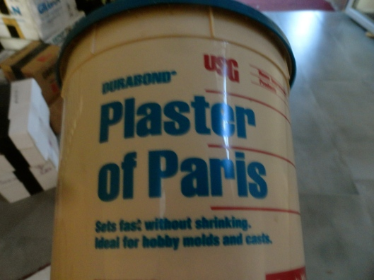 and 2) Why would anyone want to plaster Paris?