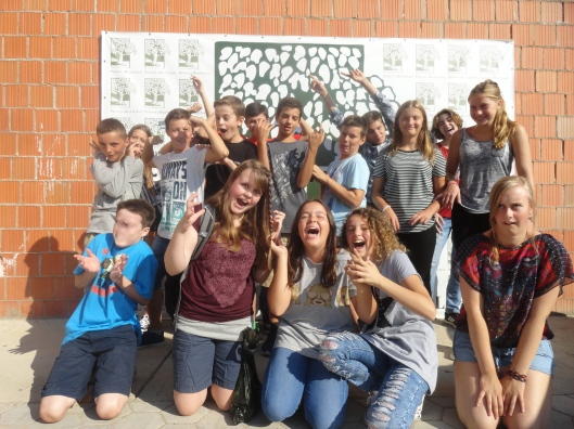 My 6th graders or not long ago are now 8th graders - they get more fun every year!
